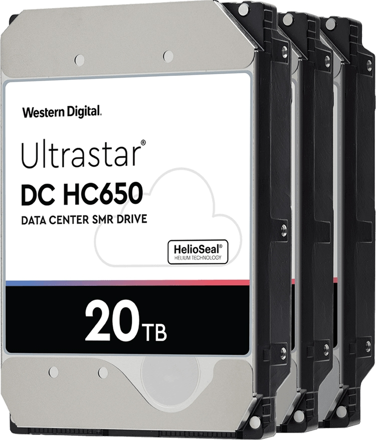 """До 20 Тбайт: Western Digital скоро начнёт поставки передовых жёстких дисков"""""""