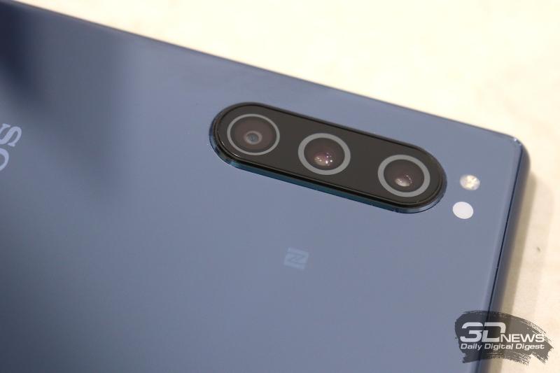 Sony Xperia 5 на выставке IFA 2019