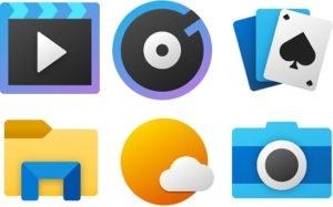 """Microsoft,возможно, готовит обновления значков для основных приложений Windows 10"""""""