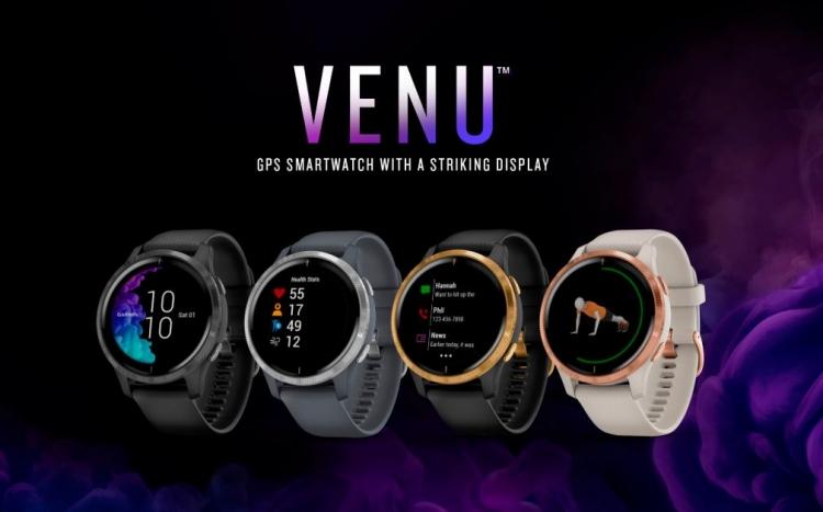 IFA 2019: смарт-часы Garmin Venu проработают 5 дней без подзарядки