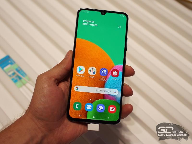 Samsung Galaxy A90 5G на выставке IFA 2019
