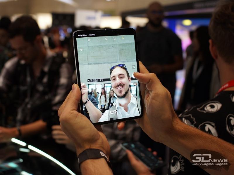 Samsung Galaxy Fold 5G на выставке IFA 2019