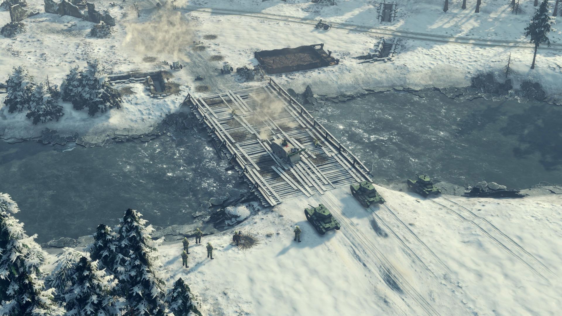 Трейлер к выходу полного издания стратегии Sudden Strike 4