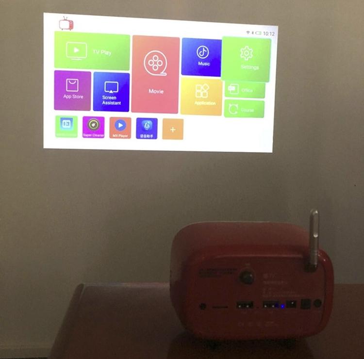 "Rikomagic R6: мини-проектор на базе Android в стиле старого радиоприёмника"""