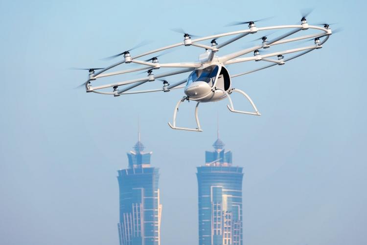 """Daimler и Geely инвестировали в проект Volocopter по запуску аэротакси"""""""
