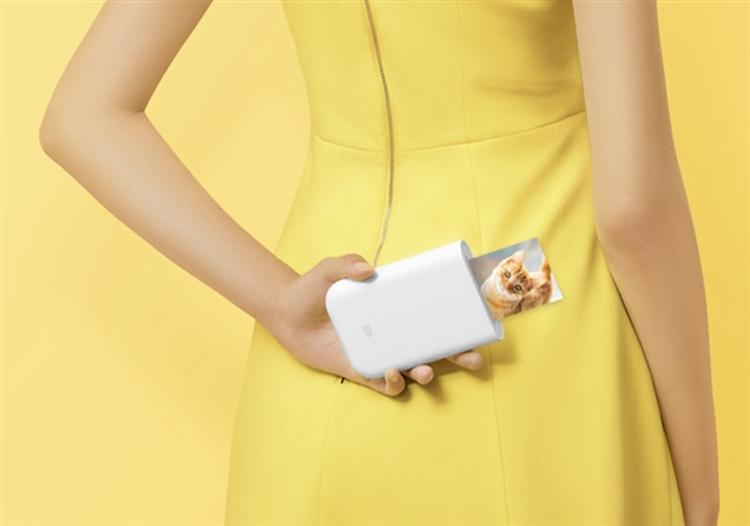 """Карманный принтер Xiaomi Mi Pocket Photo Printer обойдётся в $50"""""""