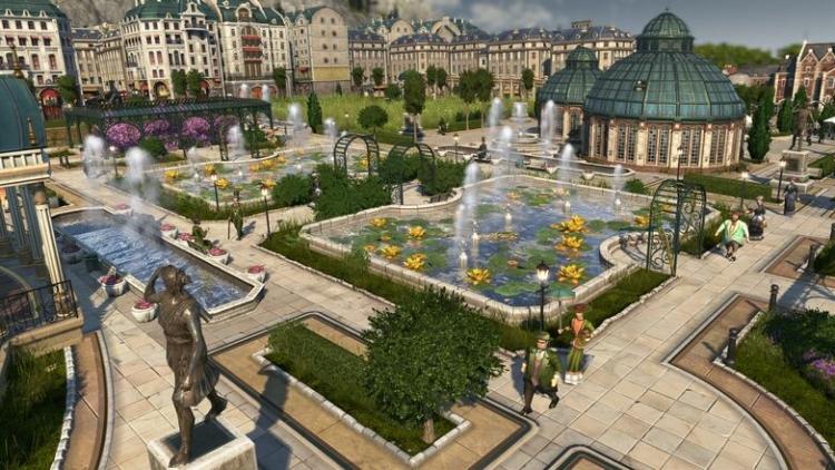 """Видео: в новом дополнении к Anno 1800 можно создать свой ботанический сад"""""""