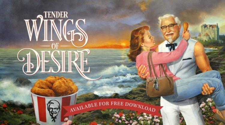 """KFC сблизит вас с Полковником Сандерсом как никогда ранее вI Love You, Colonel Sanders!"""""""