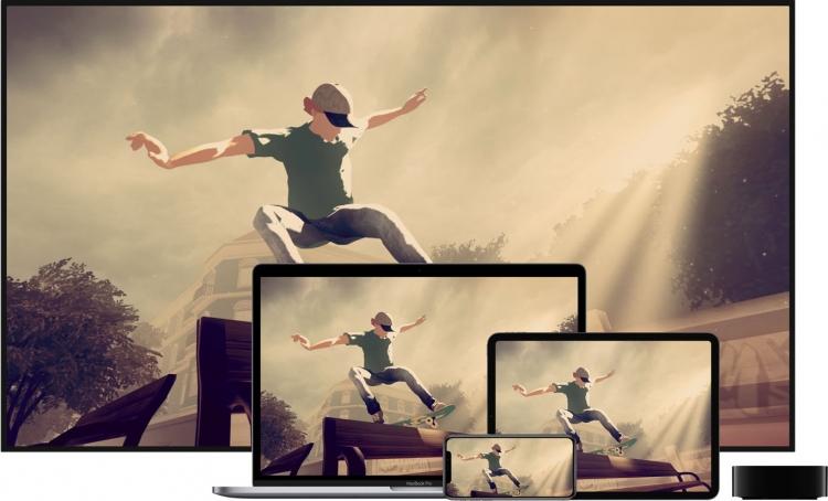 Игры в службе Apple Arcade доступны на iPhone, iPad, iPod touch, Mac и Apple TV — Skate City от Snowman поддерживает мультисенсорное управление и предлагает превратиться в мастера катания на роликовых коньках