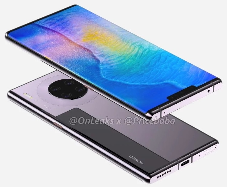 "Характеристики флагмана Huawei Mate 30 Pro раскрыты до анонса"""