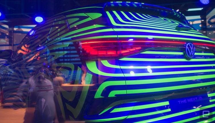 "Volkswagen показала новый электрокар на базе ID Crozz"""