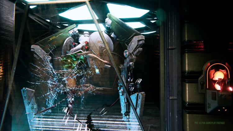 Безумный искусственный интеллект, сражения и отсеки космической станции в геймплее System Shock 3