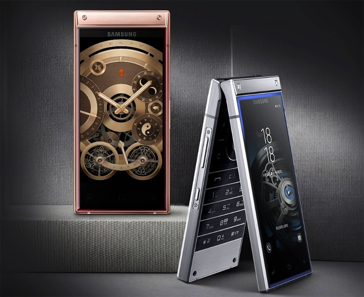 «Раскладушка» Samsung W2020 получит не менее 512 Гбайт флеш-памяти