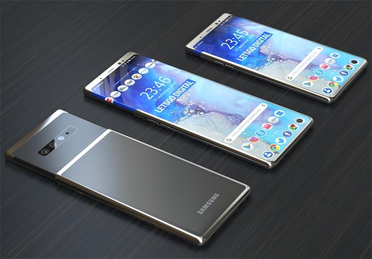 """Плюс 25 % площади: в Samsung предложен новый вариант смартфона с гибким экраном"""""""
