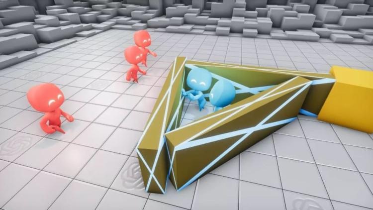 В своей новой работе исследователи из OpenAI продемонстрировали как искусственный интеллект может обучаться намного эффективнее и использовать объекты окружения в команде, играя в прятки друг против друга