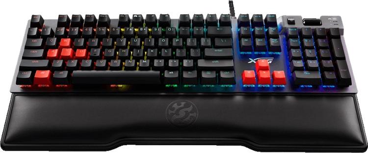 "XPG Summoner: клавиатура с RGB-подсветкой и переключателями Cherry MX"""