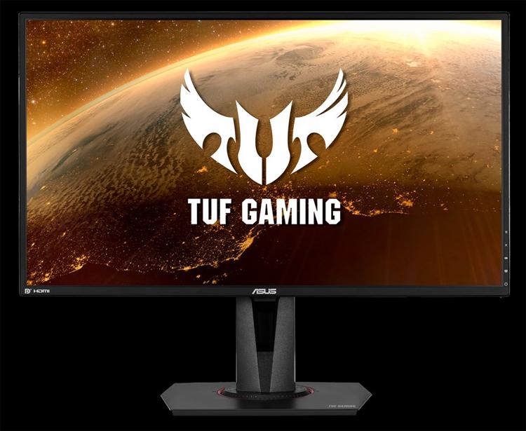 """Монитор ASUS TUF VG27AQ для игр обладает разрешением WQHD и поддержкой HDR"""""""