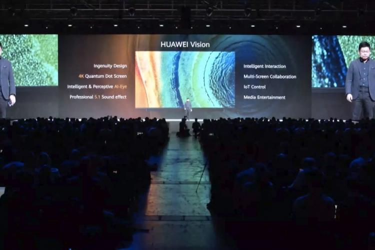 """Huawei Vision — новый умный телевизор на базе собственной Harmony OS"""""""