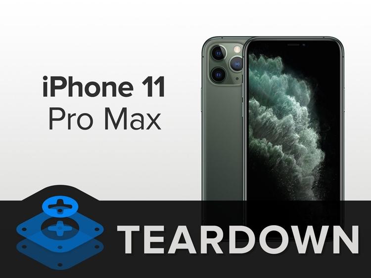 """Вскрытие iPhone 11 Pro Max: что скрывает флагманский смартфон"""""""