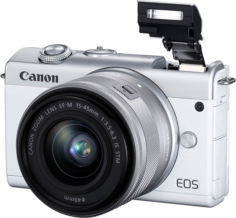 """Системная камера Canon EOS M200 начального уровня предлагает видео 4K"""""""
