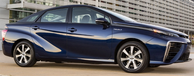 """Водородный автомобиль Toyota Mirai второго поколения выйдет в 2020 году"""""""