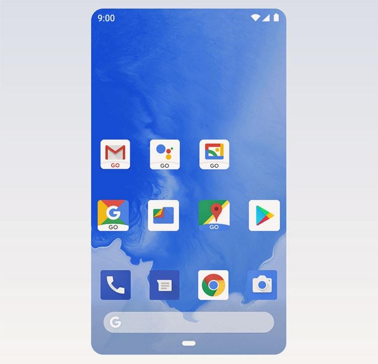 """Google представила Android 10 Go Edition для смартфонов начального уровня"""""""