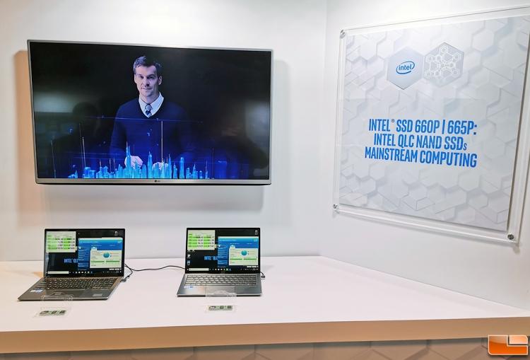 "Intel представила SSD 665p с более ёмкой и быстрой памятью QLC NAND"""