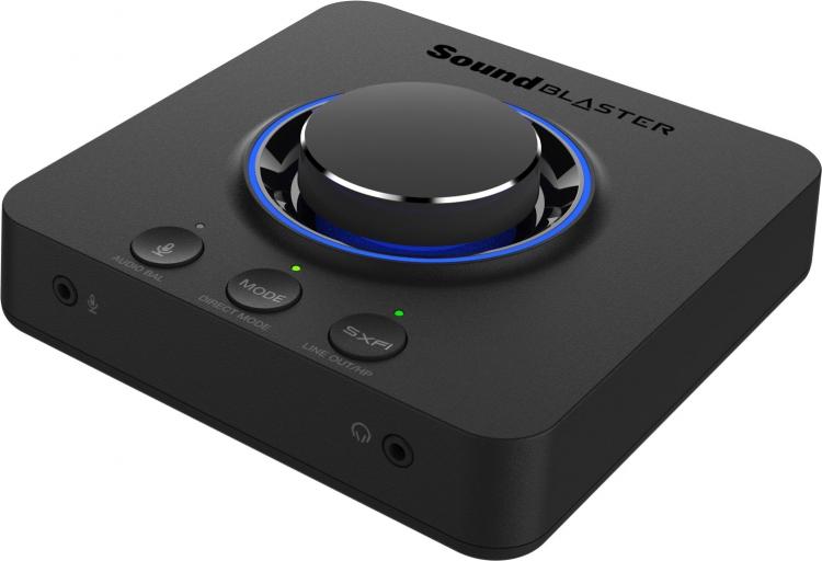 "Creative представила внешнюю звуковую карту Sound Blaster X3 — первую с технологией Super X-Fi"""