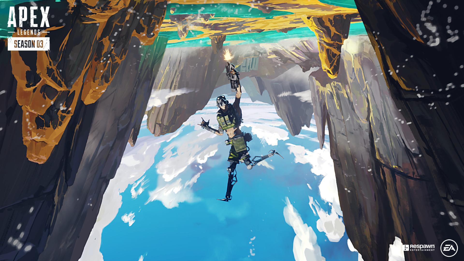 Третий сезон Apex Legends «Тающий лёд» стартует 1 октября: новая карта, герой и оружие