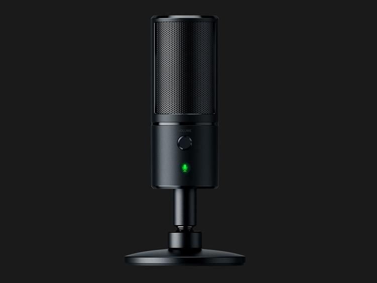 """Razer Seiren Emote: микрофон для стримеров с возможностью отображения эмоций"""""""