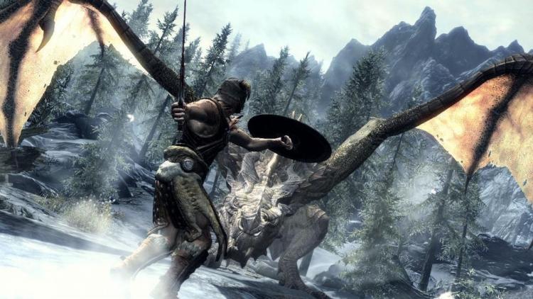 """Для The Elder Scrolls V: Skyrim вышла модификация, наделяющая драконов голосом"""""""