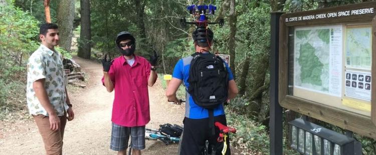 """Дрон Skydio 2 с Tegra X2 очень сложно разбить даже в лесу"""""""