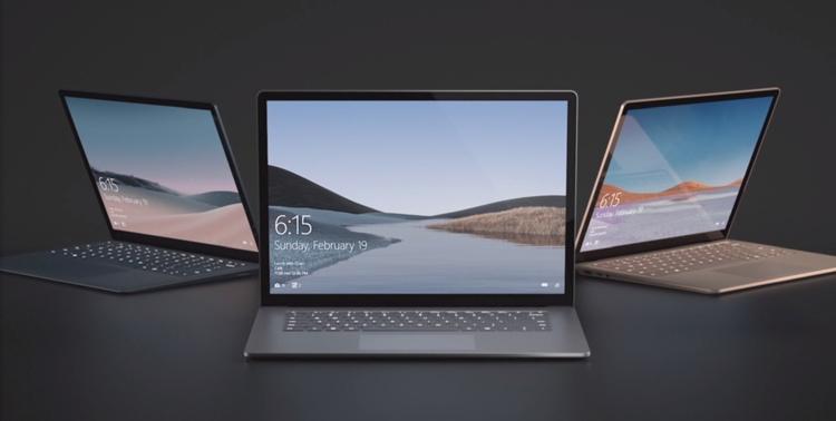 """Дебют Microsoft Surface Laptop 3: два варианта размера, платформа AMD или Intel"""""""