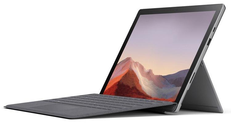 """Microsoft Surface Pro 7: гибридный планшет с 12,3"""" дисплеем и портом USB Type-C"""