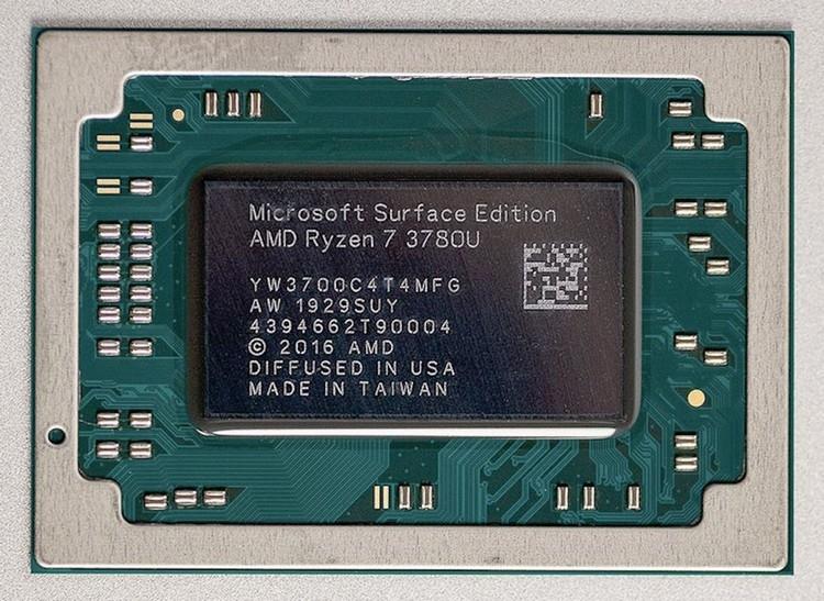 "AMD Ryzen 7 3780U Microsoft Surface Edition: кастомный процессор дляSurface Laptop 3"""