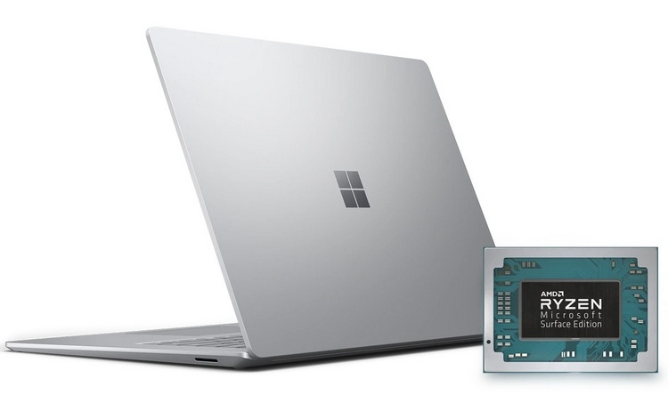 AMD Ryzen 7 3780U Microsoft Surface Edition: кастомный процессор для Surface Laptop 3""
