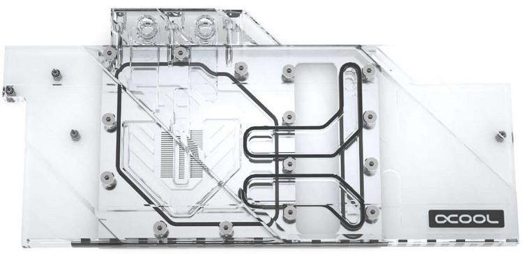 Eisblock Aurora Plexi GPX-A AMD Radeon 5700 XT MSI Gaming X