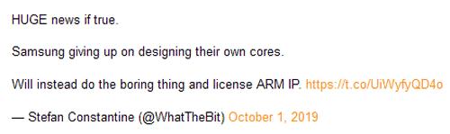 """Слухи: Samsung прекращает разработку собственных CPU на ARM и переходит на лицензирование готовых ядер"""""""