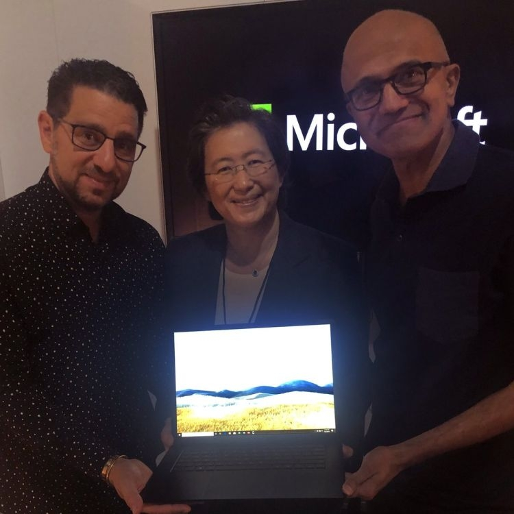 "Выход Surface Laptop на базе Ryzen заставил аналитиков поверить в потенциал AMD"""