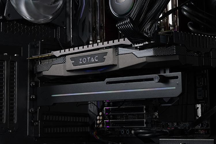 Cooler Master наделила RGB-подсветкой универсальный держатель видеокарты