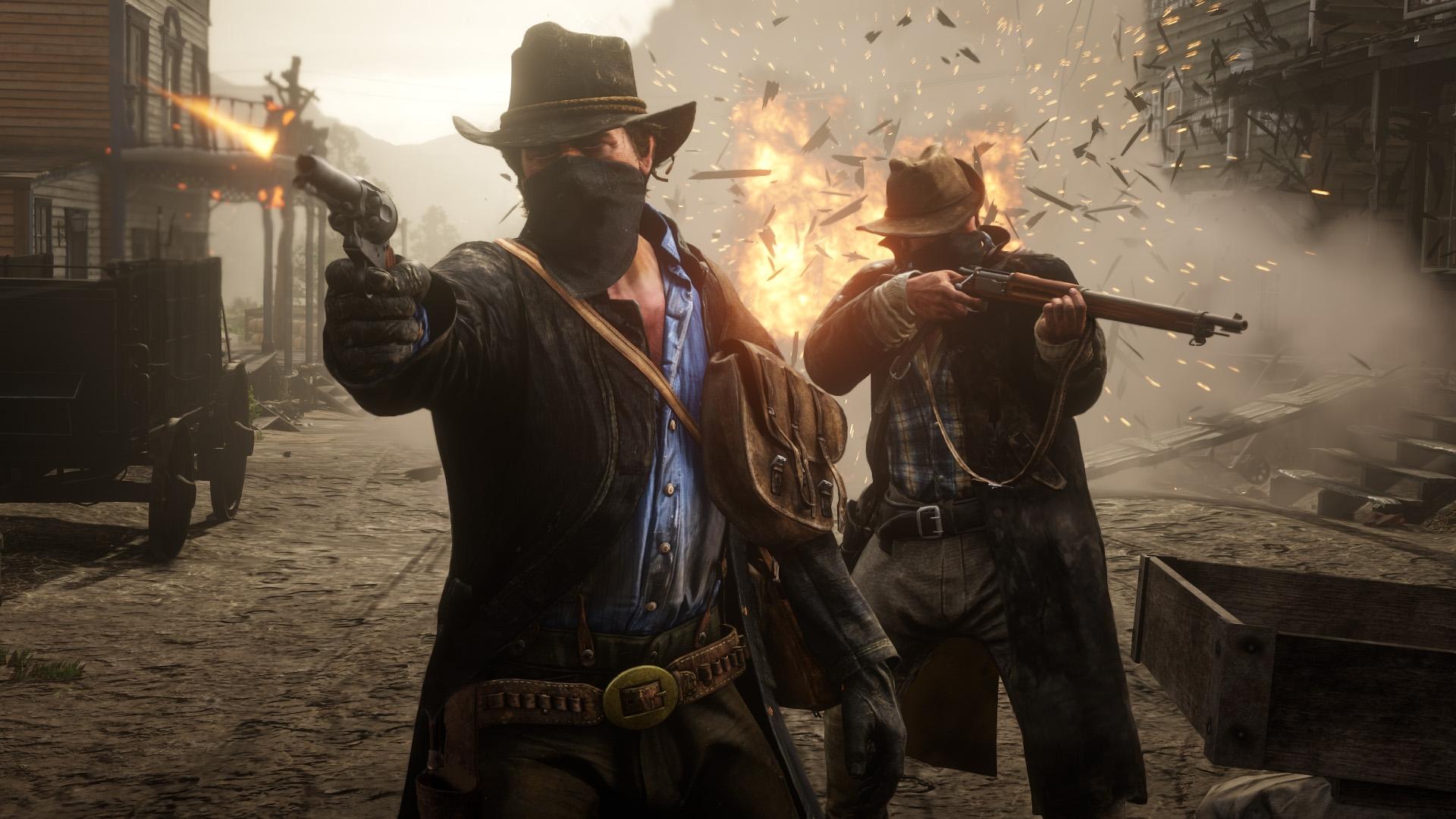 Кконцу осени выйдет видеоигра Red Dead RedemptionII для компьютеров