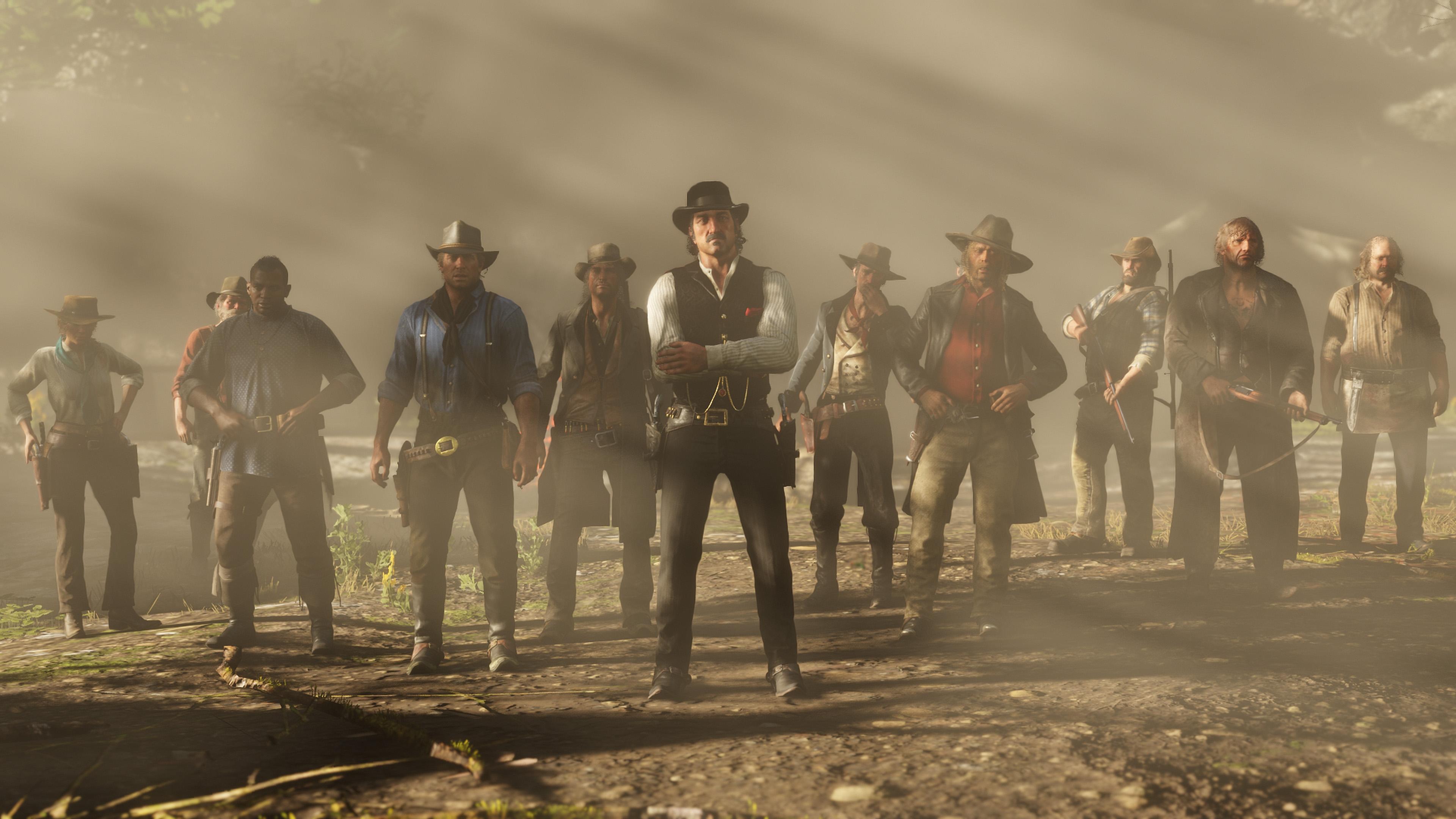 Версия Red Dead Redemption 2 для персональных компьютеров выйдет вконце осени