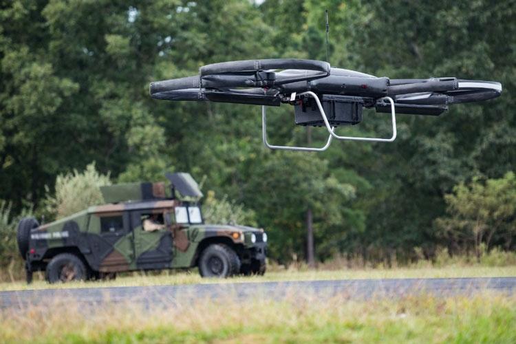 Один из прототипов грузовых беспилотников армии США