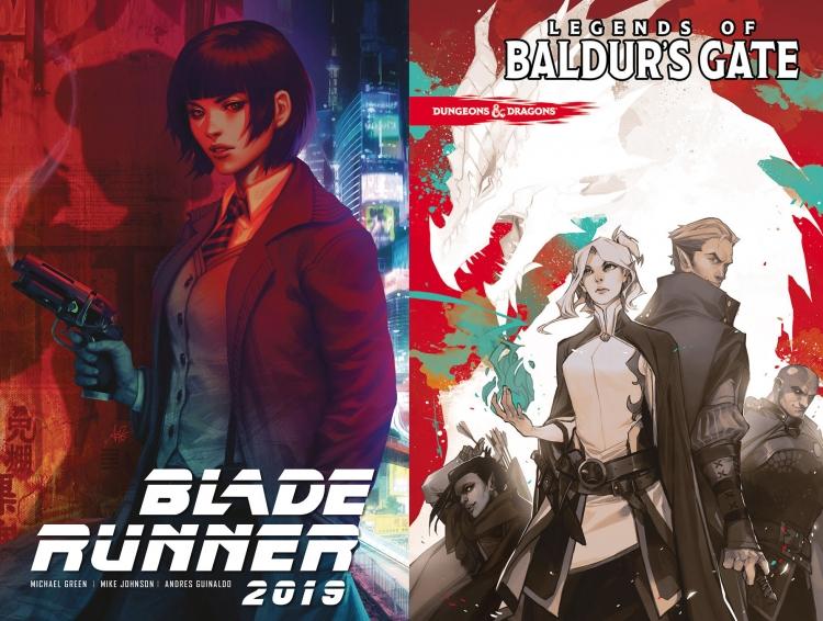 """Издательство fanzon выпустит на русском комиксы Blade Runner 2019 и Legends of Baldur's Gate"""""""
