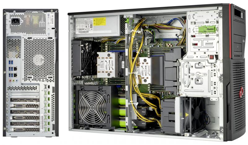 Fujitsu CELSIUSc R970