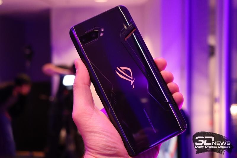 «Глянцевый» ASUS ROG Phone II, который преподносился как Elite Edition