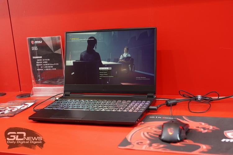"""Продукция MSI на «ИгроМире-2019»: передовые игровые ноутбуки, мониторы, видеокарты и периферия"""""""