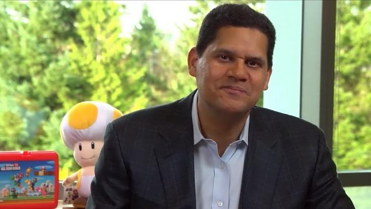 """Легенда Nintendo of America Реджи Фис-Эме получил награду от Международного зала славы видеоигр"""""""