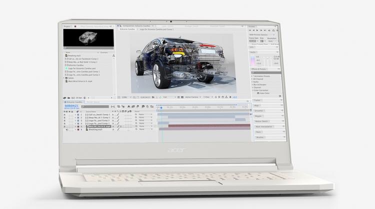 """Acer представила в России ноутбук ConceptD 7 стоимостью более 200 тысяч рублей"""""""