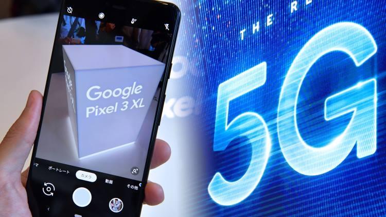 """На следующей неделе Google может представить свой первый 5G-смартфон"""""""